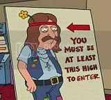 You Must Be This High To Enter